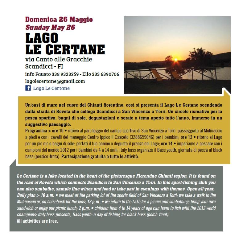 Lago le Certane